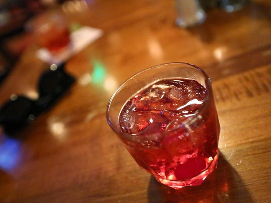 A Boulevardier is ready to be tried at the The Harrison