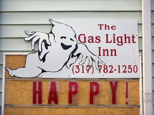The Gas Light Inn is rumored to have ghosts.