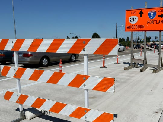 The Woodburn Interchange project is set to open all lanes on July 2 after a three-year $70 million improvement to I-5 interchange around the Woodburn Outlets. Photographed on Tuesday, June 30, 2015.