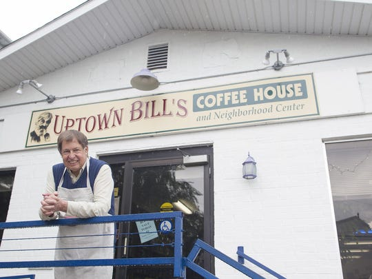 Tom Gilsenan poses for a photo at Uptown Bill's on