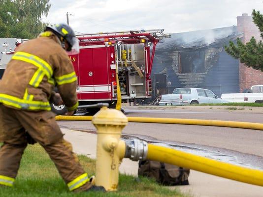 1 house fire