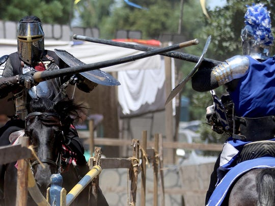 A jousting competition is featured Saturday, July 19, at the Canterbury Renaissance Faire in Silverton. The fair also runs July 25-26.