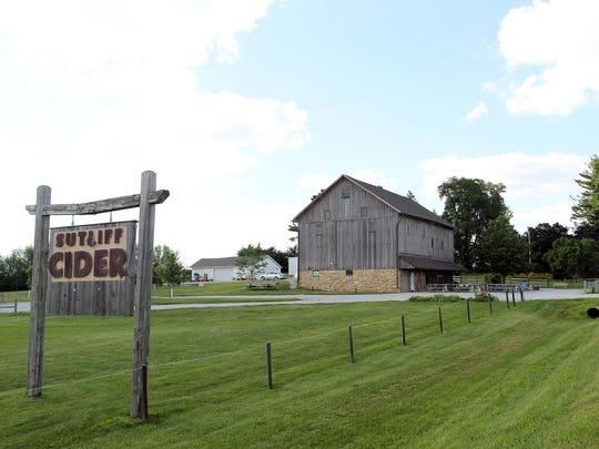 Sutliff Cider is seen on Tuesday, July 21, 2015.