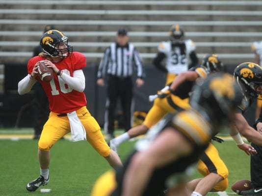 IOW 0425 iowa fb spring game 22
