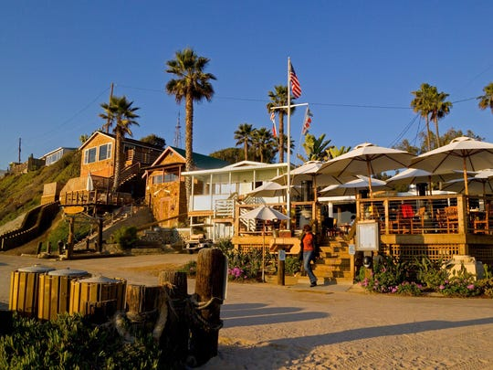 Historic beachfront cottages at Crystal Cove have been renovated for overnight guests in Crystal Cove State Park at Newport Beach.