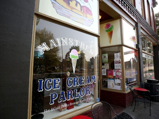 Main Street Ice Cream Parlor is in Monmouth.