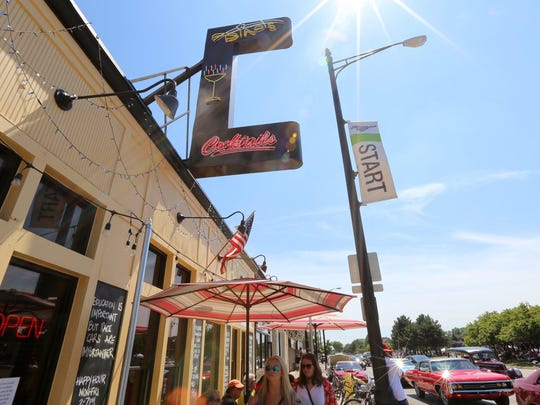 Dino's was ready for business during in Ferndale during the 2015 Woodward Dream Cruise on Saturday, Aug. 15, 2015.