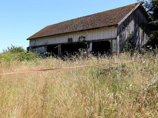 A property outside West Salem that once held a meth lab and has no record with Polk County of being cleaned since.