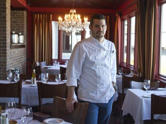 Executive chef Chuck Lesbirel of Ama Ristorante at the Driftwood.