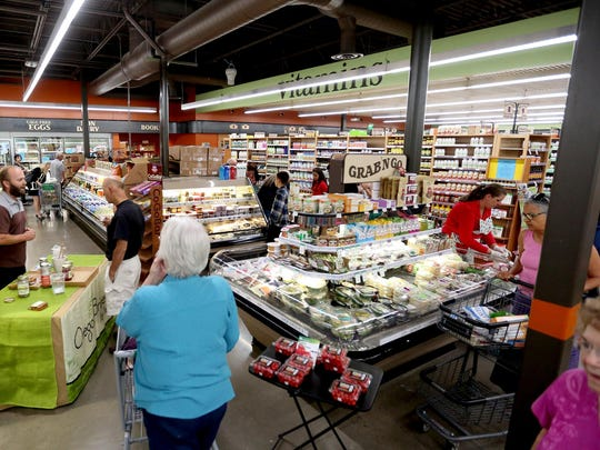The 60th anniversary celebration for Natural Grocers in Salem on Thursday, Aug. 13, 2015.