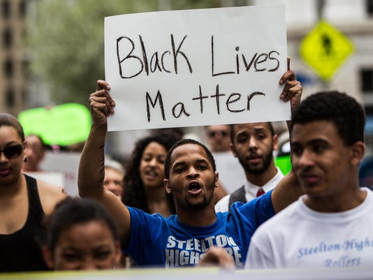 Black Lives Matter: Baltimore solidarity rally