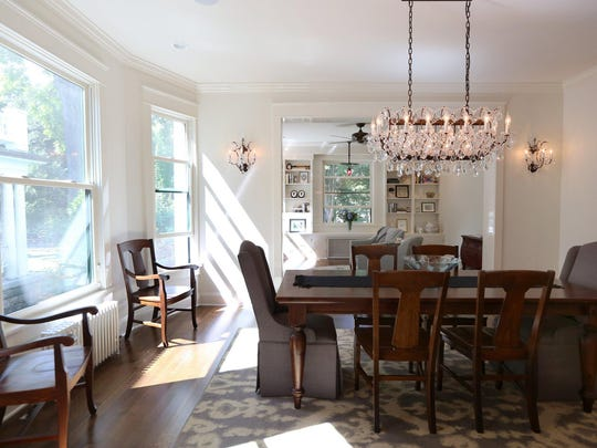 The dining room is also a newer feature.