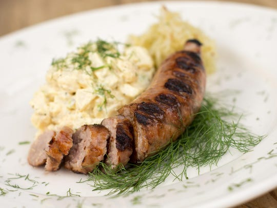 The Oct. 16 Pigtoberfest at Pignic Pub & Patio features sausages from Butcher Boy Meats.