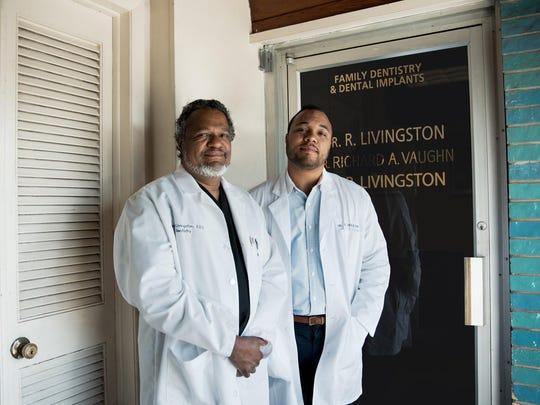Dr. Ronald Livingston and Dr. Blake Livingston, Livingston