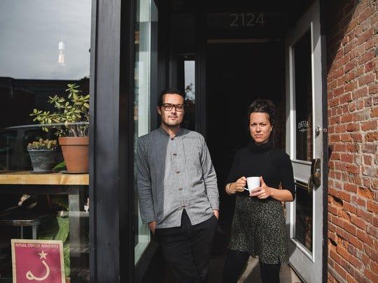 Daisuke Hughes and Jessica Hicks founded Astro Coffee