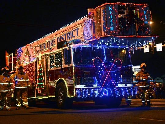 Festival of Lights Parade, Dec. 12