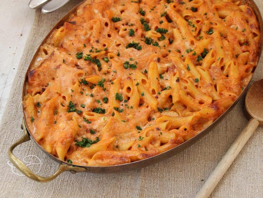 Food Kitchenwise Baked Penne