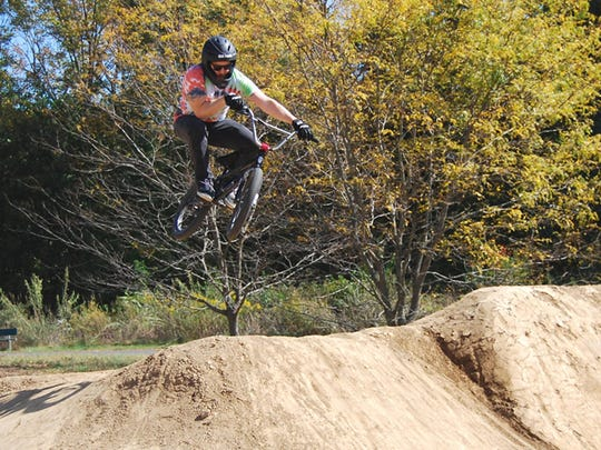 Rob Hedrick, of Fort Mitchell, gets big air on the