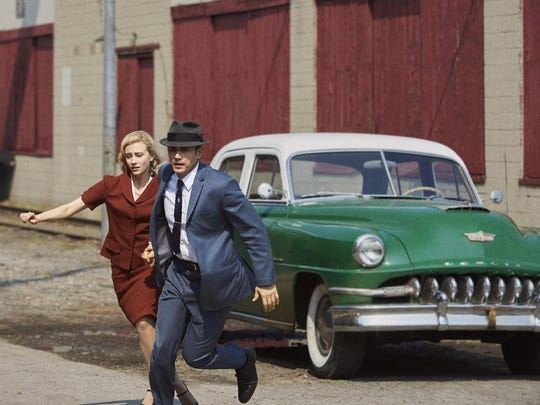 "James Franco and Sarah Gadon in ""11.22.63."" Hulu"