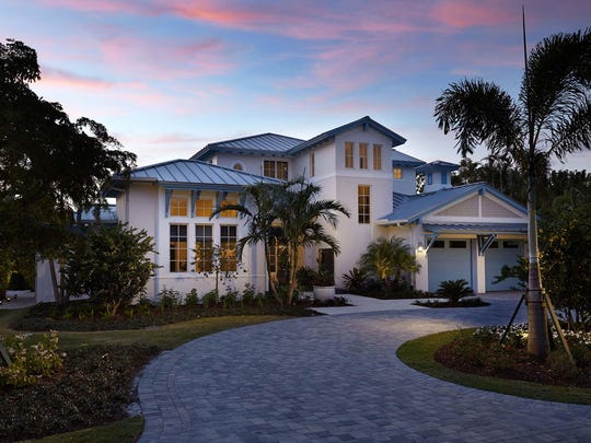 London Bay has completed construction of the Chelston model in Old Naples.