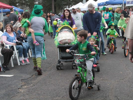 St. Paddy's Bicycle Parade