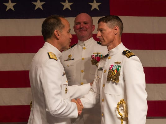 wallops change of command