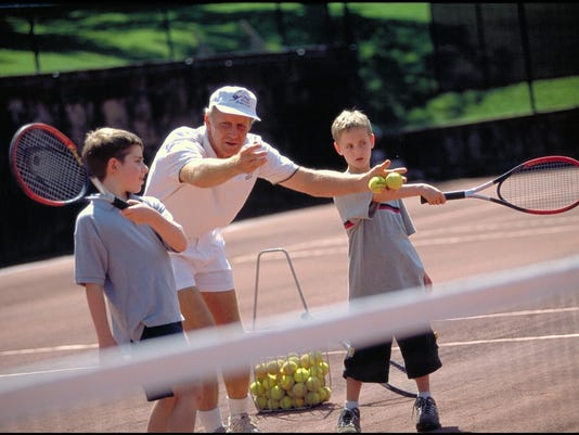 Tennis Pro with Kids at Mohonk Mountain House - G. Steve Jordan