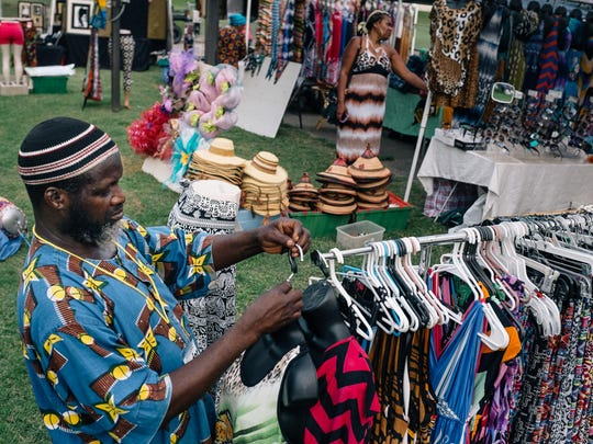 The 26th annual African Street Festival kicked off in this September 2015 file photo with shopping, food and entertainment.