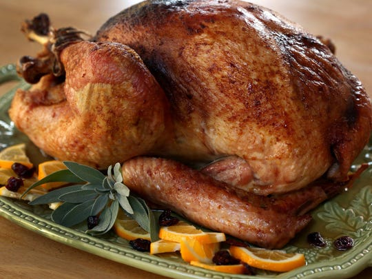 This turkey recipe is kicked up a few notches thanks to the ginger and cayenne pepper.