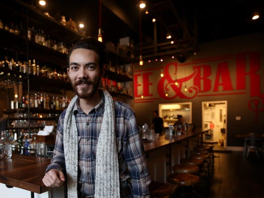 Jesse Hayes, the owner of Archive Coffee & Bar.