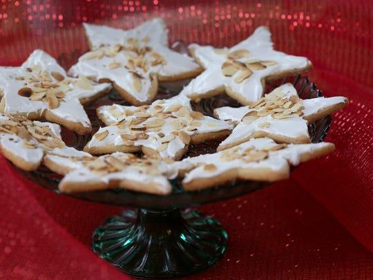Almond Star cookies.