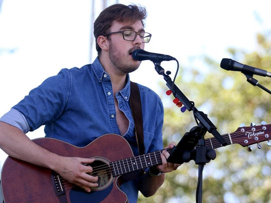 Singer/songwriter Jacob Westfall, seen here performing at the 2016 Bite & Brew of Salem, will play a free concert 8 p.m. March 2 at Boon's Treasury and 8:30 p.m. March 3 at Vagabond Brewing.