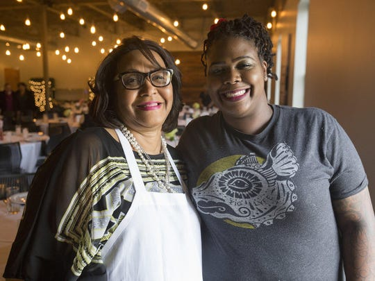 Sundays are special, says Charlotte Bell of Westland, a time to come together. She's with daughter Reva Constantine, executive chef at the Great Lakes Culinary Center in Southfield who invited her to kick off the Sunday Night Dinners series there.