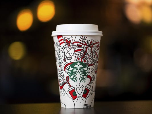 Starbucks-Holiday Cup