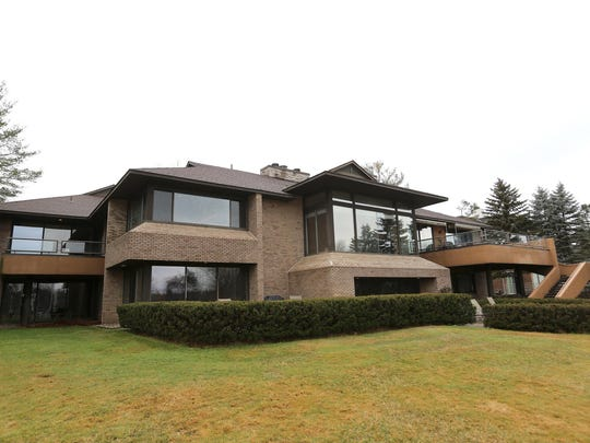 Irving Tobocman built this modern design home in 1990 in Bloomfield Hills.