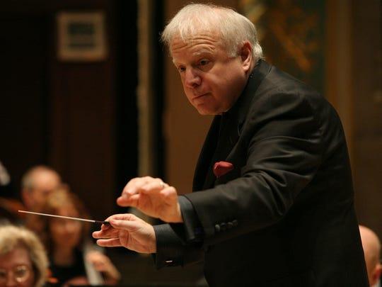 Leonard Slatkin of the Detroit Symphony Orchestra.