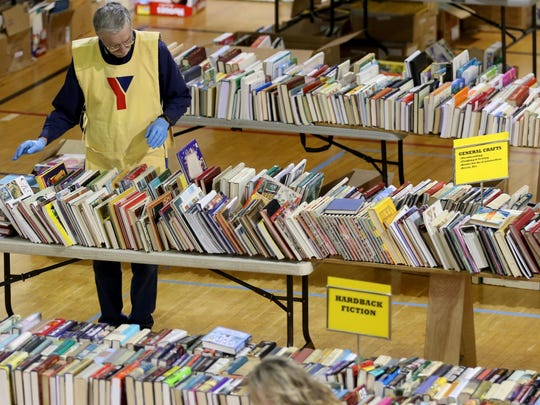 The YMCA Used Book Sale is set for July 19-21.