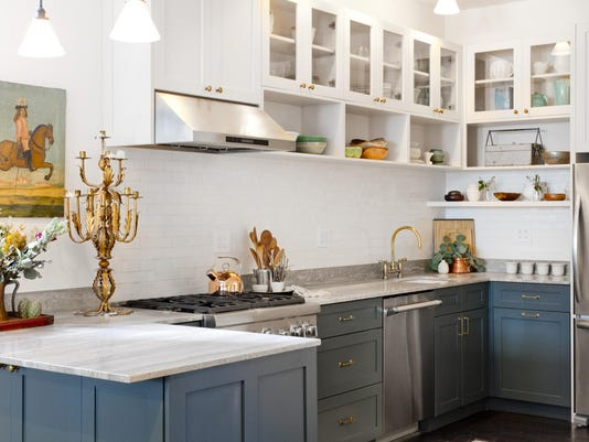 Houzz_1 More Color in Kitchens
