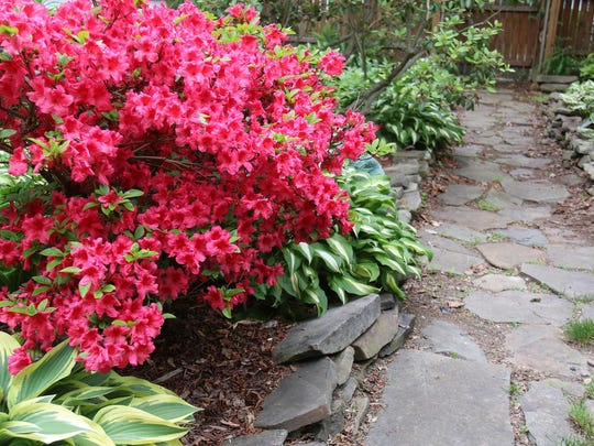 """""""Hidden Waterfall Oasis"""" is one of seven gardens on the Preservation Association of the Southern Tier's garden tour."""