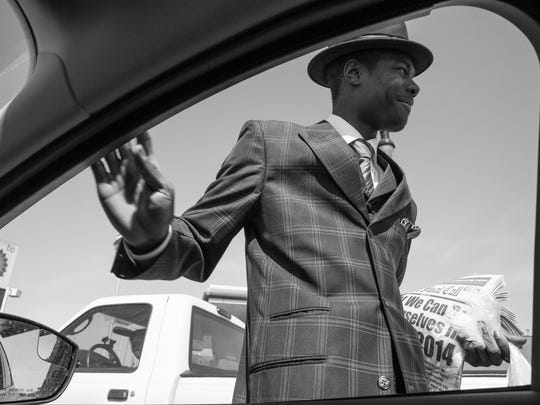 """""""Detroit Man"""" by Amy Sacka is on view through Nov. 22 at the annual photography exhibit at the Scarab Club."""