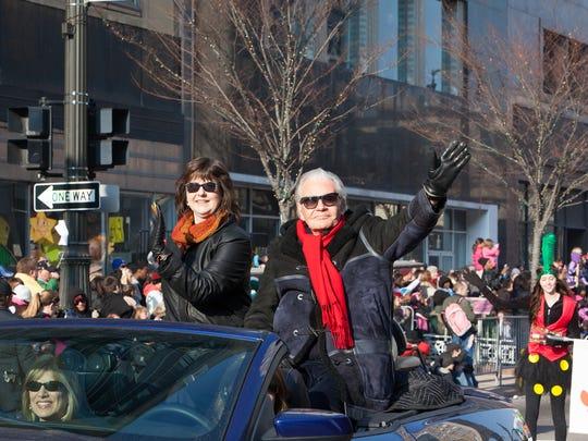 Art Van Elslander and Susan Goodell in the 2012 America's