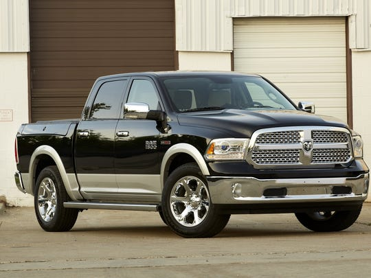 2015 Ram 1500 Laramie Crew Cab 4x4 EcoDiesel. The pickup has helped lead the brand's sales gains during the 56-month streak.