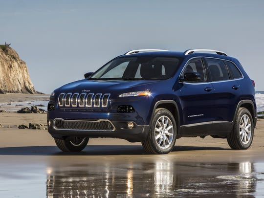 2015 Jeep Cherokee Limited. The automaker is on a hot streak.