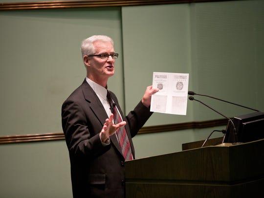 Michael Schoenfeldt is the John R. Knott Jr. Collegiate Professor of English Literature and department chair at U-M.