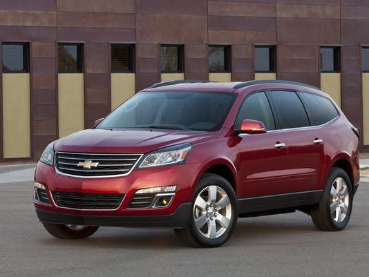 Chevy Traverse Problems >> Gm Stops Selling Some Suvs Due To Pending Tire Recall