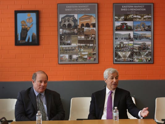 JPMorgan Chase outlines new aid for Detroit