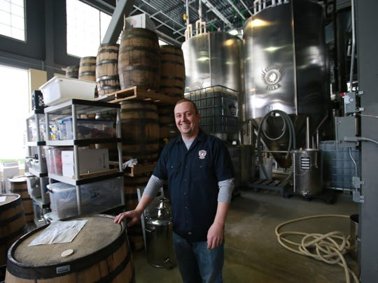 """Griffin Claw Brewing general manager Brandon Wright says, """"We're always trying to be good neighbors."""""""