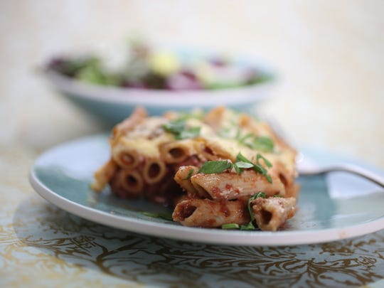 Trim the fat from Pastitsio for a healthier version.