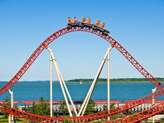 Maverick is one of Cedar Point's highlights.