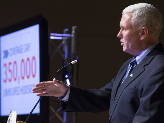 Governor Mike Pence says the new health care coverage plan is as affordable for citizens, fiscally sound for the state and a better, consumer-driven alternative than expanding traditional Medicaid.